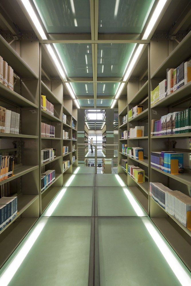 Biblioteca Jose Vasconcelos,Cortesía de Alberto Kalach