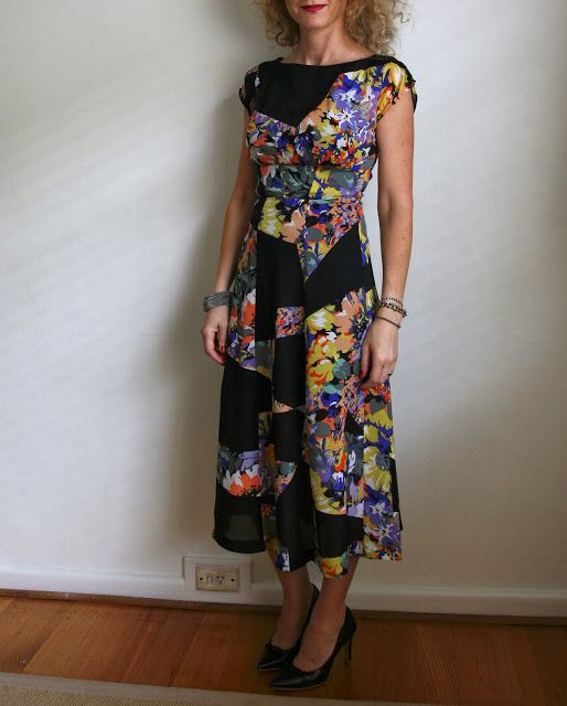 Sew Tessuti : The Anna Dress from By Hand London