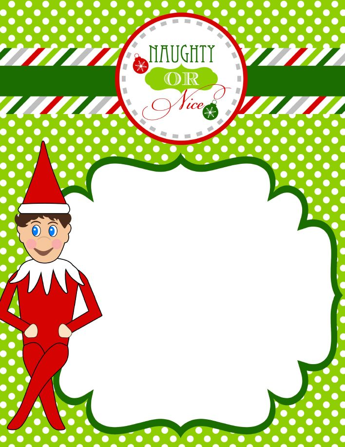 Best Elf On The Shelf Printables  Ideas Images On