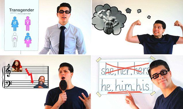 NEWLY DEFINED: Transgender man creates light-hearted video to come out to his friends
