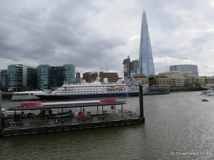 Seadream 1 - Infront of The Shard Hotel - At London Tower Bridge