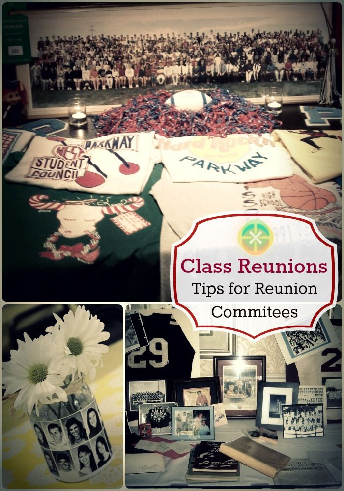 This blog is full of ideas about how to pull of a great #class #reunion and how to work with your class reunion #committee.  Also, site has links to event venues and event planners!