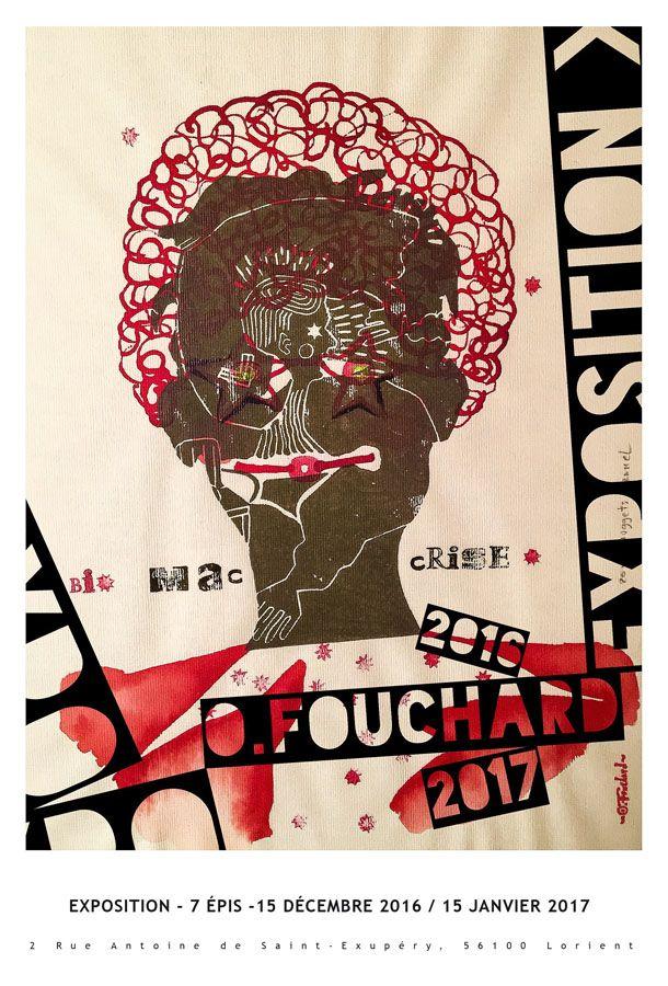 EXPOSITION O.FOUCHARD 7 épis du 15 au 15 (déc 2016 - Janv 2017)