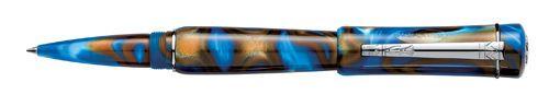 "Laban ""Scepter"" Ref RN R687 XX Capped Rollerball Pen Resin Blue Tornado | eBay"
