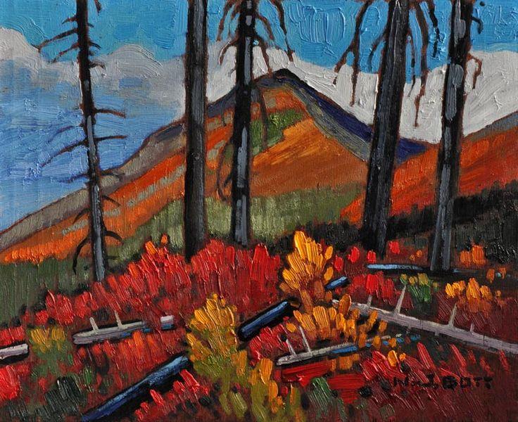 Kootenay Fall, by Nicholas Bott