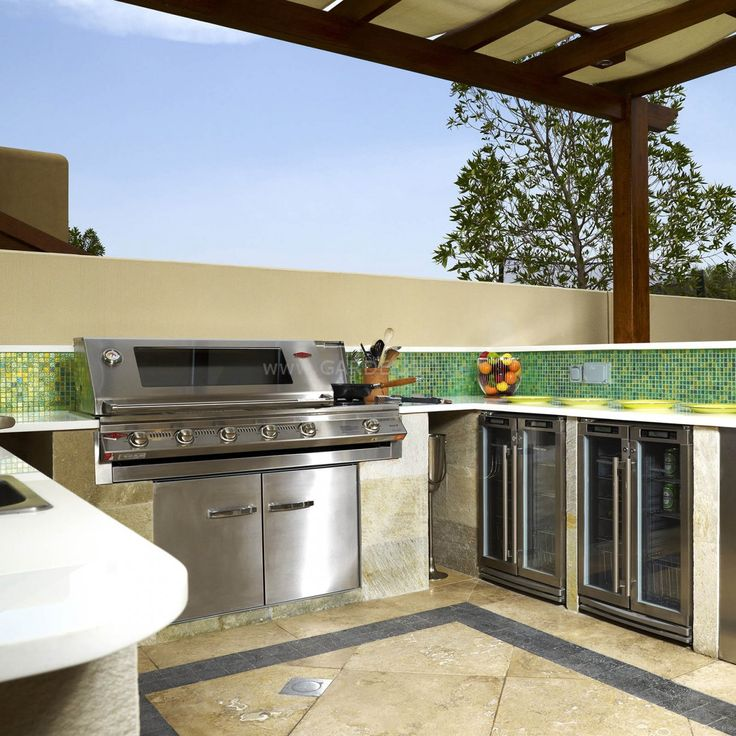BeefEater BBQ SL4000 Outdoorkitchen