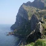 Seongsan Ilchulbong, a world heritage site, Seogwipo, Jeju Island