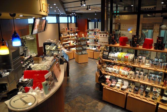 タリーズ×伊東屋、文房具併設カフェが京急横浜駅ホームにオープン | Fashionsnap.com