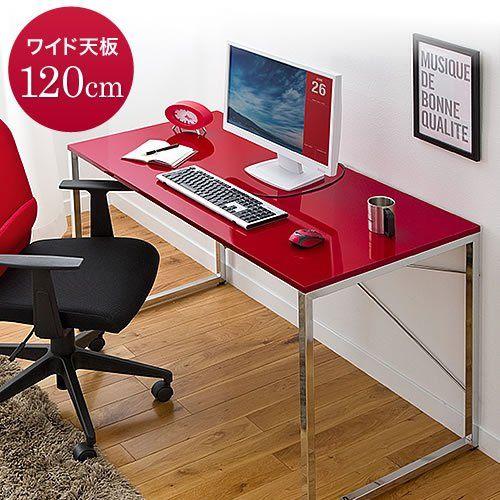 Amazon.co.jp: サンワダイレクト ワークデスク パソコンデスク PCデスク W1200×D600 パソコンテーブル ブラック 100-DESK039BK: 文房具・オフィス用品