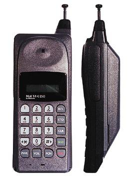 Uno de los primeros celulares en el mundo