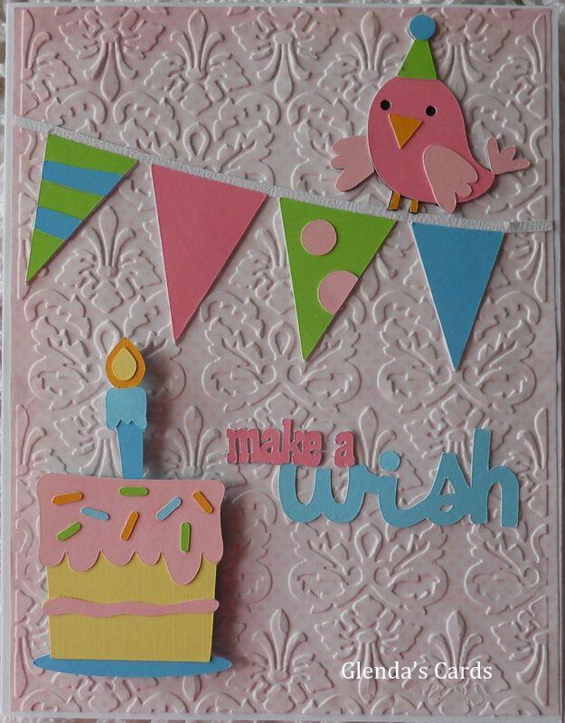 Glenda's Cards: Cricut Birthday Bash