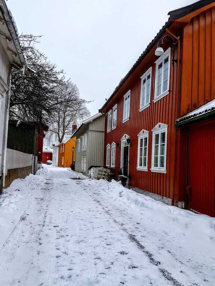 Old part of Tønsberg/Norway