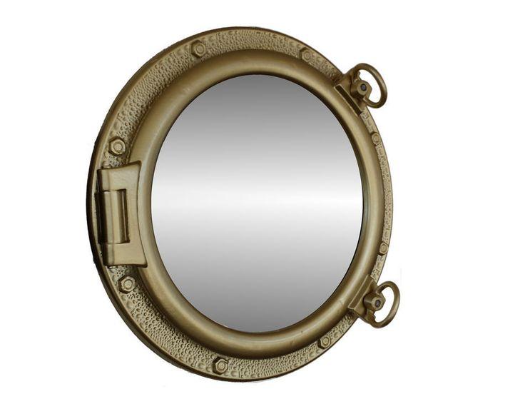 Nautical Bathroom Mirrors: 25+ Best Ideas About Nautical Mirror On Pinterest
