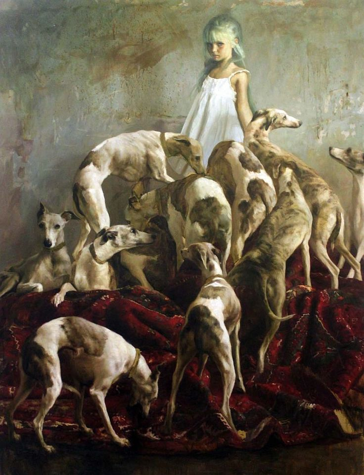 El Hurgador [Arte en la Red]: Pintando perros (XXXIV) - Guillermo Lorca