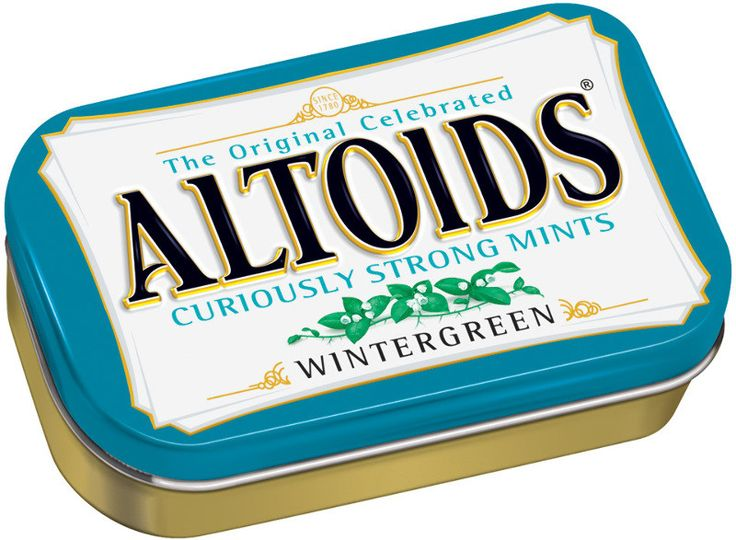 altoids mints wintergreen Case of 12