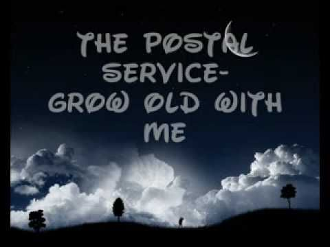 """Cruising #pinterest I saw the idea of playing """"Grow Old Along with Me"""" by John Lennon during the Unity Candle/Sand Ceremony. I think it's a cool idea, but I kinda like The Postal Service's take on the song a little better."""