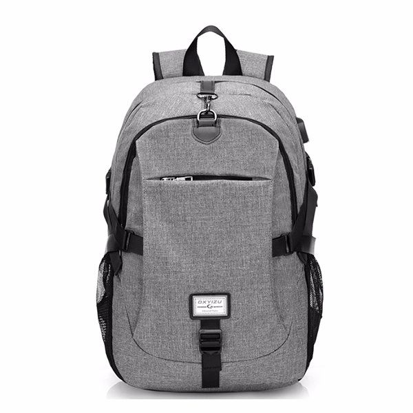 17 Inch Nylon Anti-theft Laptop Bag With USB Charger Casual Business Backpack For Men Women 0.0   Write a Review  US$ 28.21