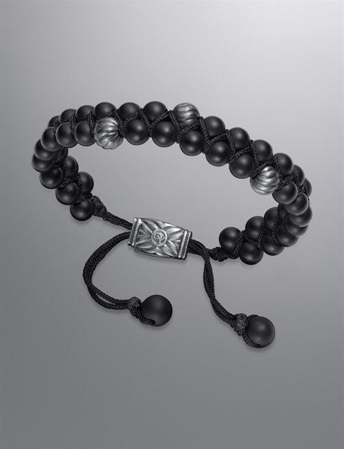 David Yurman | Men | Bracelets: Spiritual Bead Bracelet, Black Onyx, 6mm