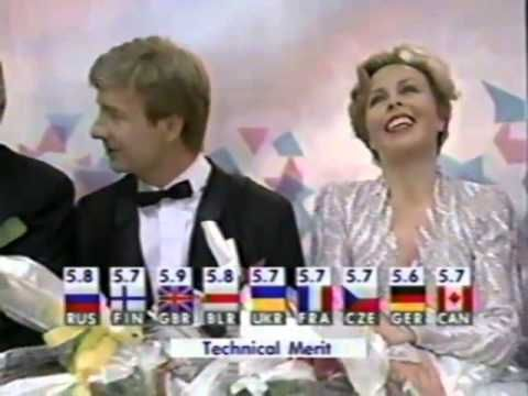 "To this day the judging mistakes still make me mad! Torville and Dean should have won the gold.  Torvill and Dean ""Let's Face the Music and Dance"" (1994 Olympics)"