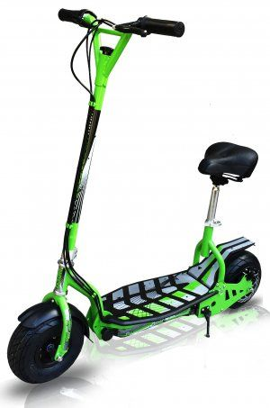 EVO Zippy Uber electric scooter Now with seat!!! Green