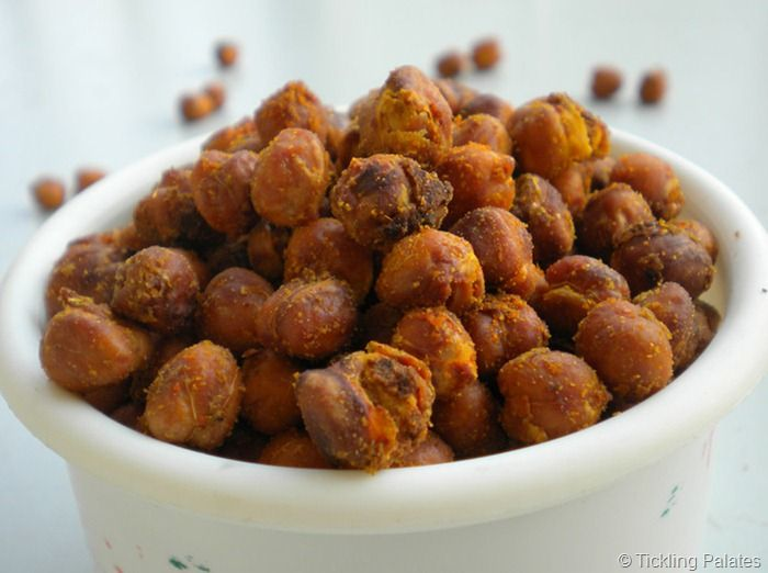 Baked Chick Peas / Garbanzo Beans