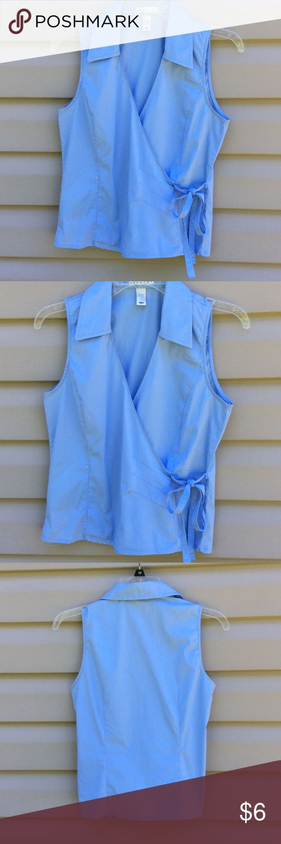 Ladies light blue shirt. Old Navy Pretty light blue shirt..small..excellent condition! Old Navy Tops Blouses