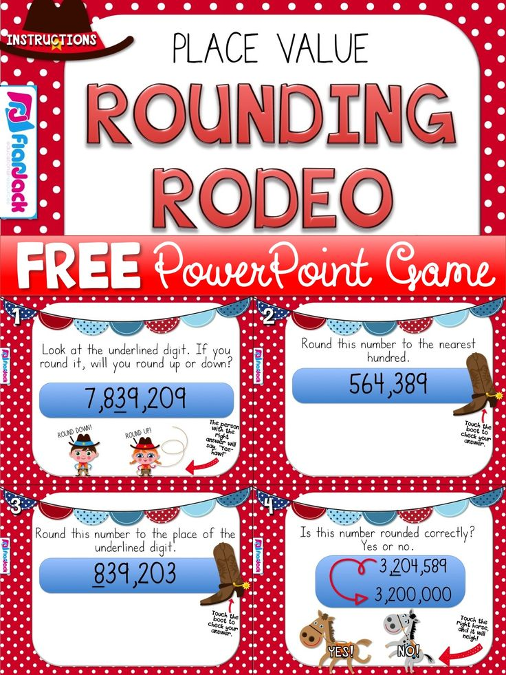 This upper elementary math freebie is a very fun, hands-on PowerPoint game to…