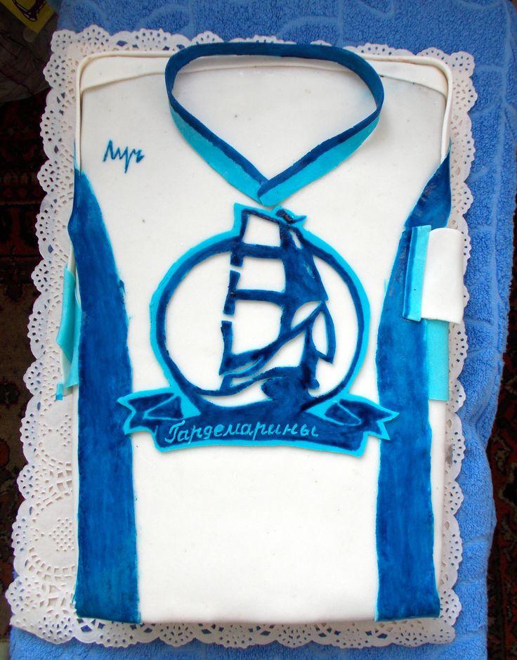 торт хоккеисту