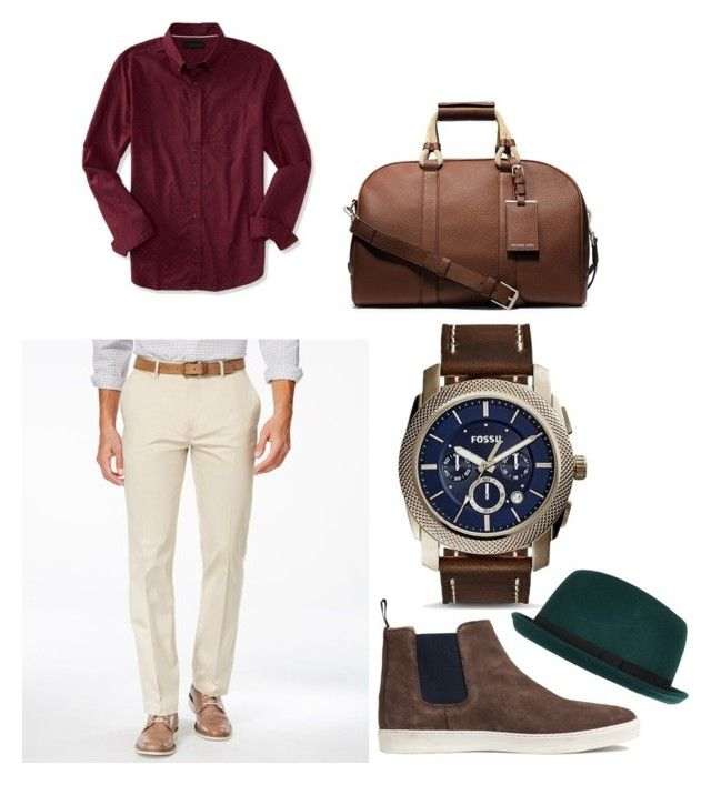 Untitled #2 by mihai-cosmin on Polyvore featuring polyvore, Aéropostale, Alfani, FOSSIL, Michael Kors, River Island, mens, men, men's wear, mens wear, male, mens clothing and mens fashion