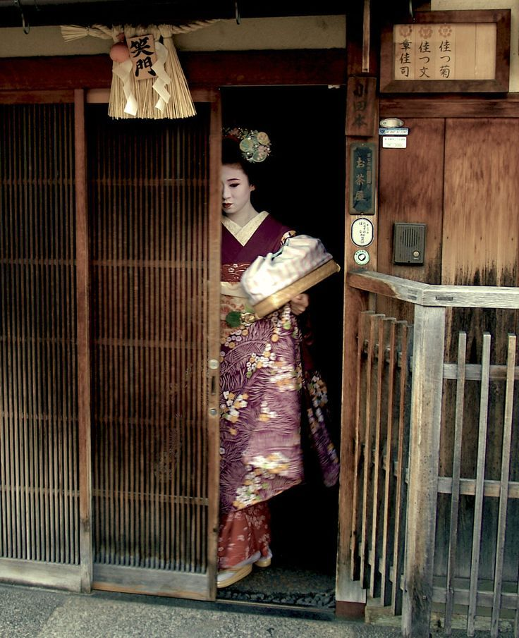 the role of the geisha in I think the height of the geisha's role was when poor families would sell their  young women to the okiya and the okiya would provide young.