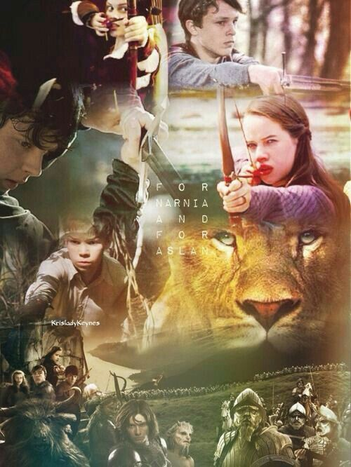 For Narnia and For Aslan...
