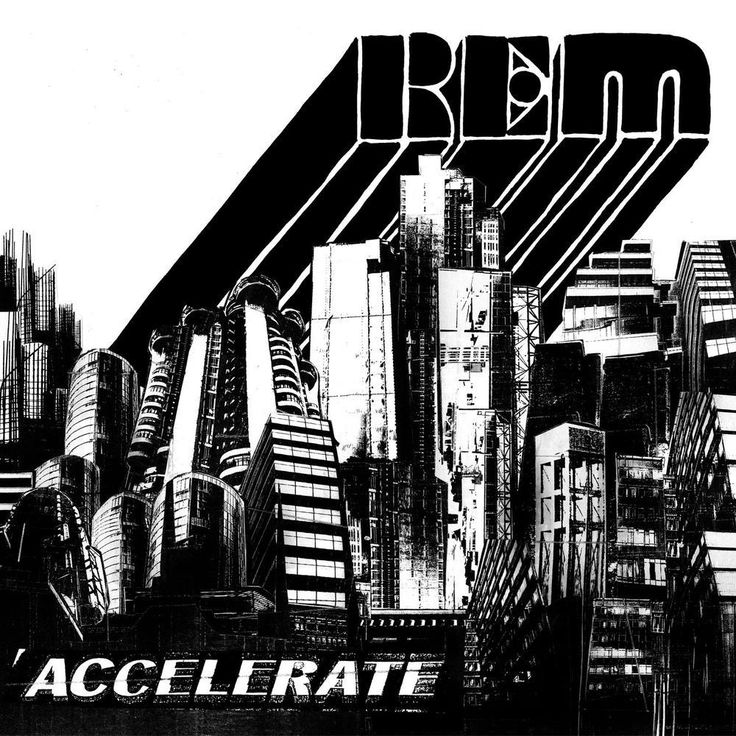 R.E.M. – Accelerate (2008) Warner – Zenekuckó