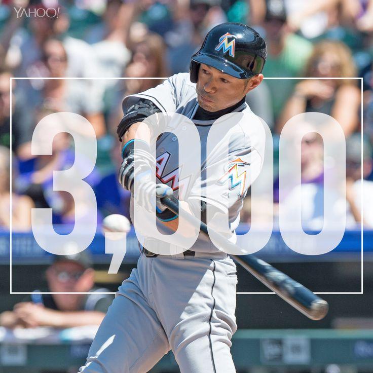 Ichiro Suzuki is the MLB's newest member of the 3,000 hit club.