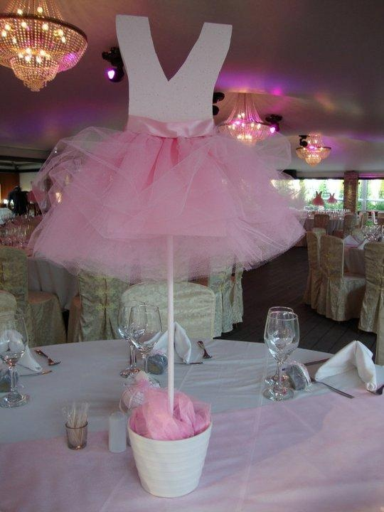 Ballerina Table Centerpiece. Could be placed by the front door or in the garden also.
