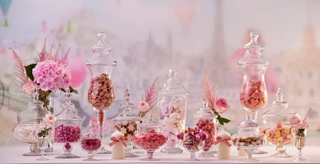 JF Floral Couture: La Madeleine de Proust x JF Floral Couture: Create Your Bespoke Reception Candy Bar with Flowers!