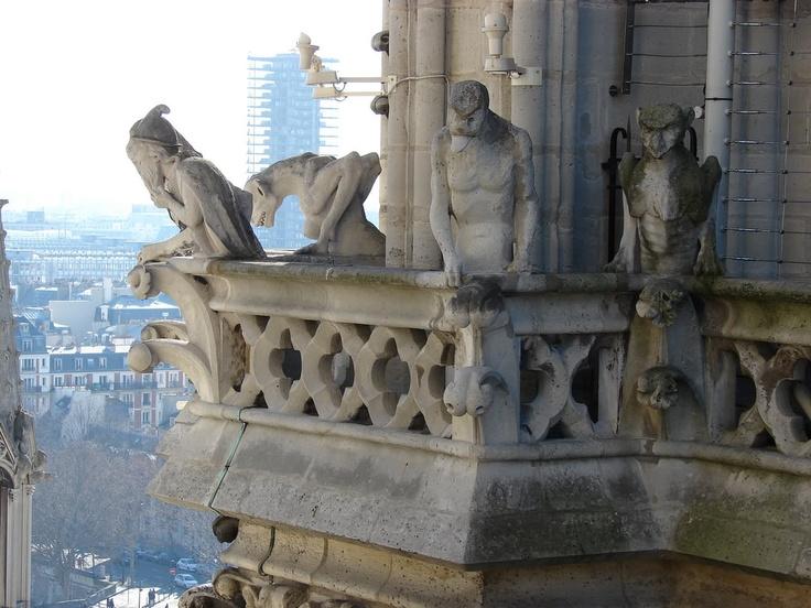 quimeras in Notre Dame