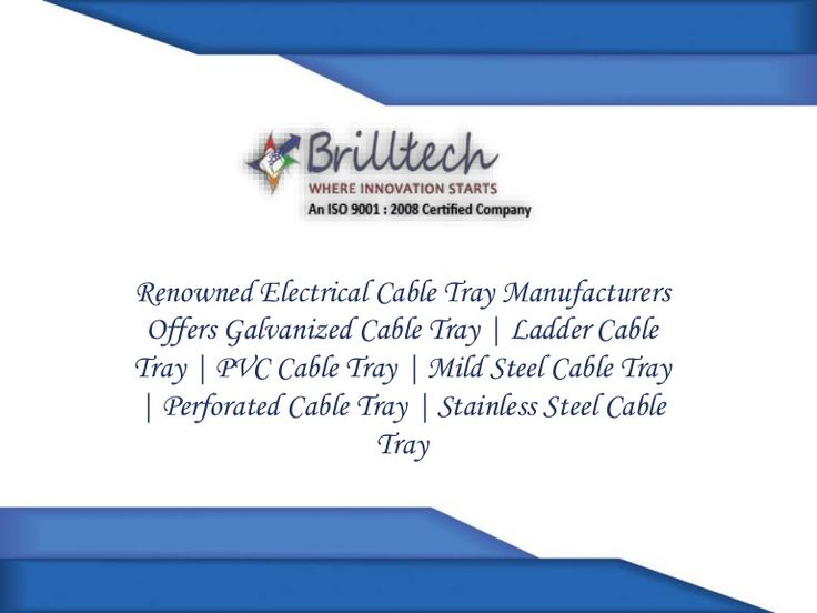 Have A Look Our Latest Video On PVC Cable Tray