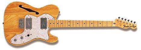 Hillman Guitars 08: Fender Thinline Telecaster