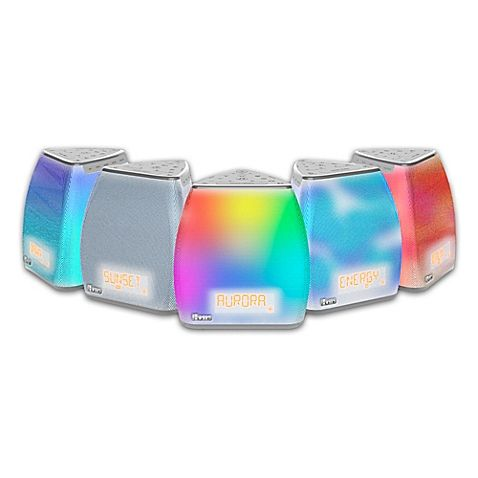 iHome® Zenergy™ Bedside Sleep Therapy Speaker