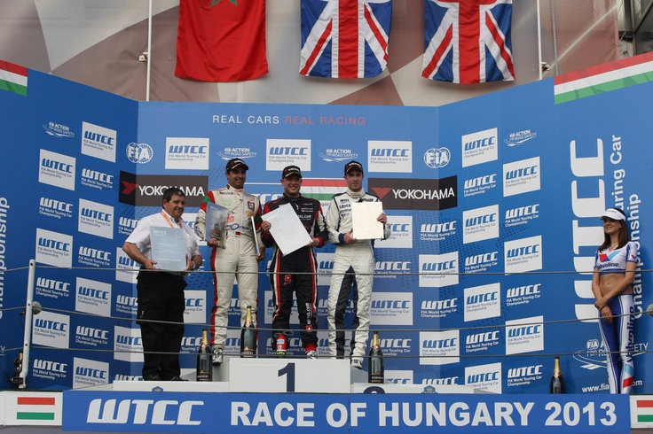 Podium second race