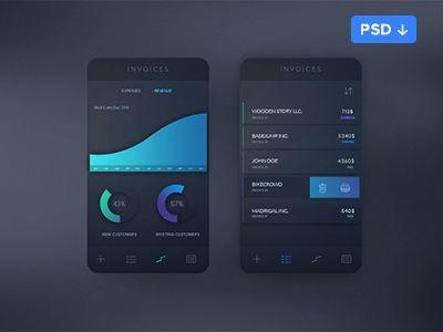 Invoice app concept1