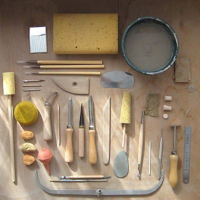 Pots and Paint: Pottery tools