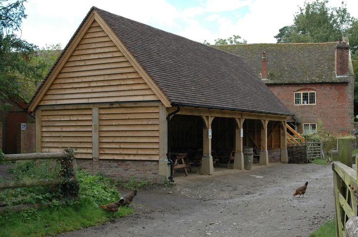 Garages and Carports - Border Oak - oak framed houses, oak framed garages and structures.