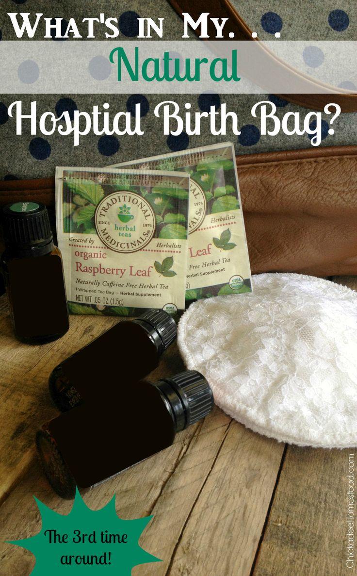 Natural Hospital Birth Bag
