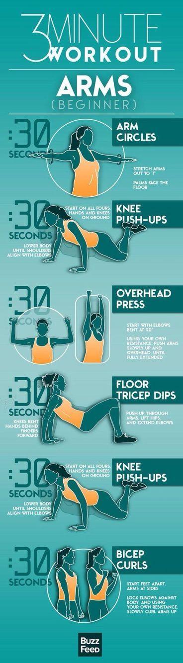 Beginner arm workout