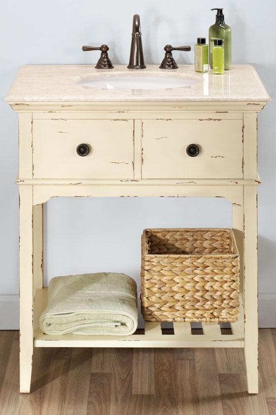 25 best ideas about vintage bathroom vanities on - Antique bathroom sinks and vanities ...