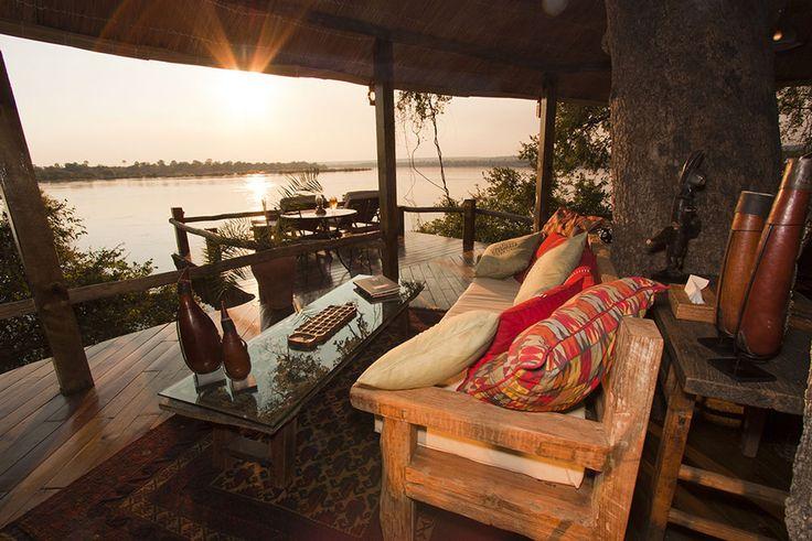 Tree House Accommodation, Zambezi River