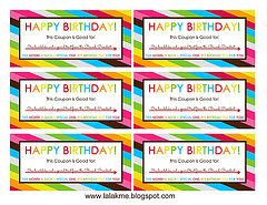 Primary Birthday Coupons Bishop