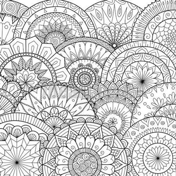 Mandala Coloring Pages Book Amazing Design