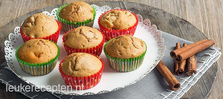 Speculaas-peer muffins